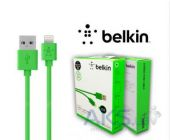 Вид 2 - Кабель USB Belkin Lightning to USB ChargeSync Cable for iPhone 1.2m H Green (F8J023bt04-GNhc)