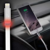 Вид 5 - Кабель USB Scosche FlatOut™ LED Lightning White (I3FLEDWT)