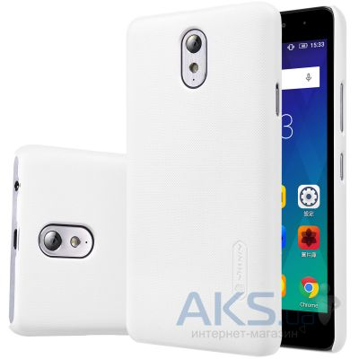 Чехол Nillkin Super Frosted Shield Lenovo Vibe P1m White