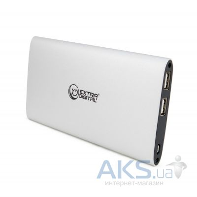 Внешний аккумулятор power bank ExtraDigital YN-034L 10000mAh Silver (PBU3417)
