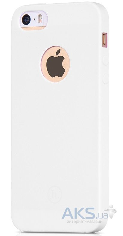 Чехол Hoco Juice Series Apple iPhone 5, iPhone  5S, iPhone SE White