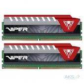 Оперативная память Patriot DDR4 32GB (2x16GB) 2400 MHz Original V ELITE KIT BLK/RED (PVE432G240C5KRD)