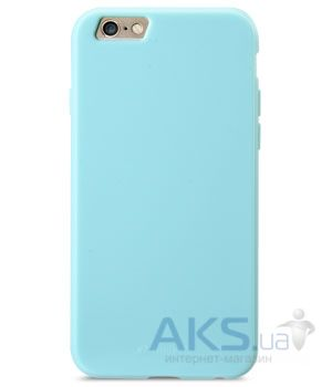 Чехол Melkco Poly Jacket TPU (Ver.3) Cases for Apple iPhone 6/6S Pearl Blue (APIP6FTULT2BEPL)