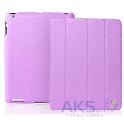 Чехол для планшета JustCase Leather Case For iPad 2/3/4 Purple  (SS0007)