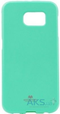 Чехол Mercury Jelly Color Series Samsung Galaxy S6 G920F Turquoise
