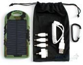 Вид 3 - Повербанк power bank Drobak Solar Power 4000  mAh Khaki (606802)