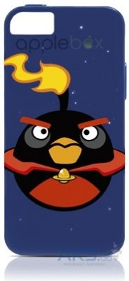 Чехол Gear4 Angry Birds Protective Apple iPhone 5, iPhone 5S, iPhone SE Space Fire Bomb Bird (ICAS502G)