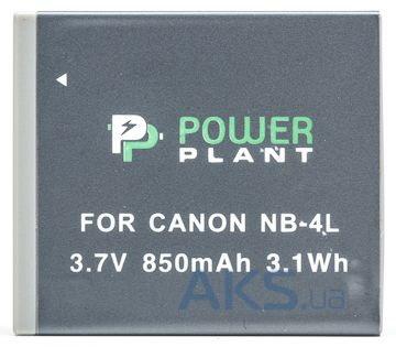 Аккумулятор Canon NB-4L 850mAh (DV00DV1006) PowerPlant