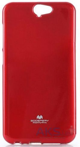 Чехол Mercury Jelly Color Series HTC One A9 Red
