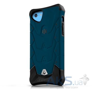 Чехол ITSkins Inferno for iPhone 5C Blue (APNP-INFNO-BLUE)