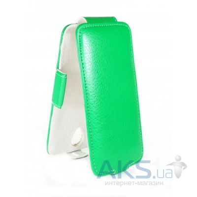 Чехол Sirius flip case for Lenovo A889 Green