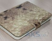 Обложка (чехол) Saxon Case для PocketBook Basic 611/613 Snake Beige