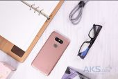 Вид 2 - Чехол Nillkin Super Frosted Shield LG G5 H860, G5 SE H845 Rose Gold