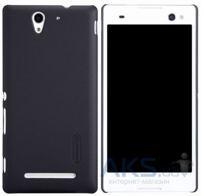 Чехол Nillkin Super Frosted Shield Sony Xperia C3 Black