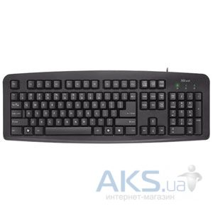 Клавиатура Trust ClassicLine Keyboard RU Black
