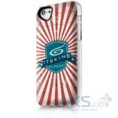 Чехол ITSkins Phantom for iPhone 5C iTSkins (APNP-PHANT-WHRD)