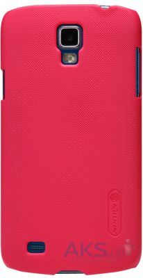 Чехол Nillkin Super Frosted Shield Samsung Galaxy S4 Active i9295 Red