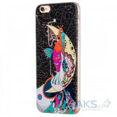 Чехол Hoco Element Series Mythology Mermaid Apple iPhone 6, iPhone 6S Black