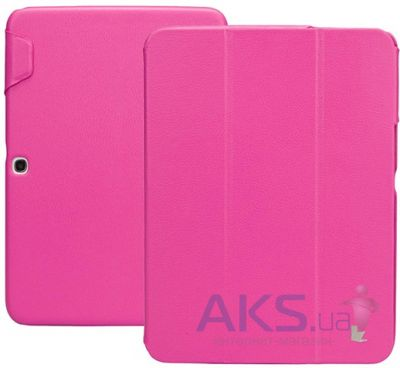 "Чехол для планшета JisonCase Premium Leatherette Smart Case for Samsung Galaxy Tab 3 10"" Rose (JS-S52-03H33)"
