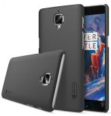 Чехол Nillkin Super Frosted Shield OnePlus 3 Black