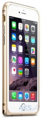 Чехол Melkco Q Arc Bumper Apple iPhone 6 Plus, iPhone 6S Plus Gold