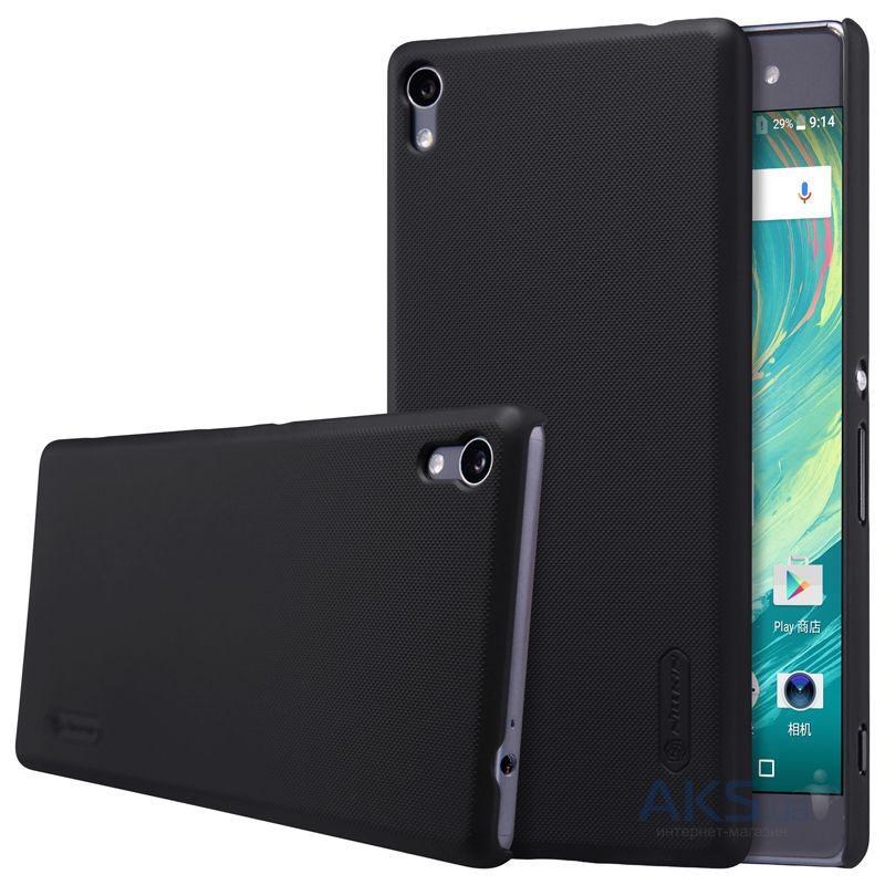 Чехол Nillkin Super Frosted Shield Sony Xperia XA Ultra Black
