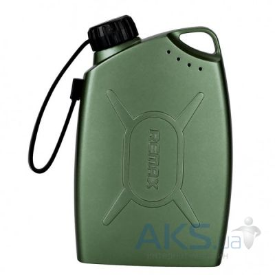 Повербанк power bank Remax Gas Station 6600 mAh Green