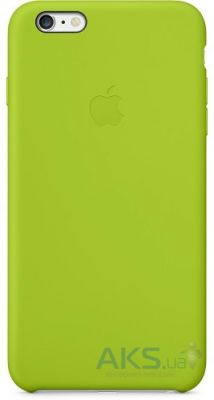Чехол Apple Silicone Case for iPhone 6 Plus Green (MGXX2)