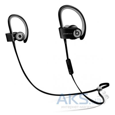 Наушники (гарнитура) Beats PowerBEATS 2 Wireless Sport Black (MKPP2ZM/A)