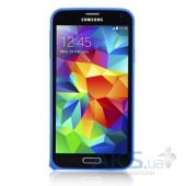 Чехол Devia Buckle Samsung G900 Galaxy S5 Blue