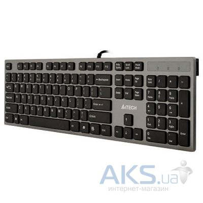 Клавиатура A4Tech KV-300H Black/Gray