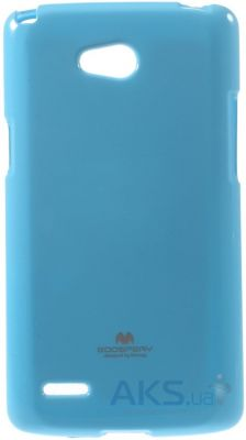Чехол Mercury TPU Jelly Color Series LG D380 L80 Dual Blue