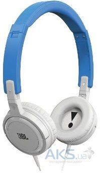 Наушники (гарнитура) JBL On-Ear Headphone T300A Blue/White (T300ABNW)