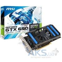 Видеокарта MSI GeForce GTX650 1024Mb OverClock (N650-1GD5/OCV1)