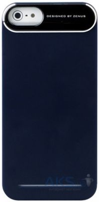 Чехол Zenus Metal Edge Navy Apple iPhone 5, iPhone 5S, iPhone 5SE Blue