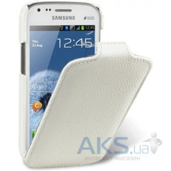 Чехол Melkco Jacka leather case for Samsung i9500 Galaxy S4 White (SSGY95LCJT1WELC)