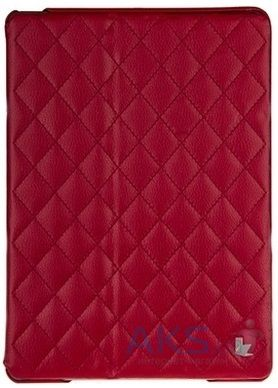 Чехол для планшета JisonCase Microfiber quilted leather case for iPad Air Red [JS-ID5-02H30]