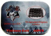 Demon Killer Tri-twisted Clapton 0.35ohm 10шт (готовая намотка)