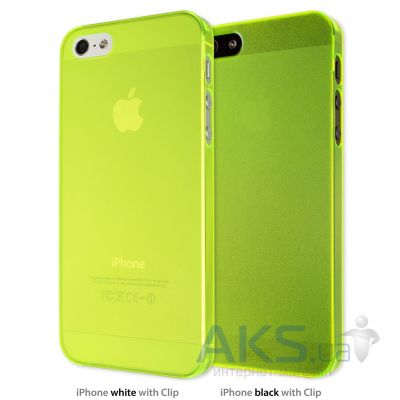 Чехол Artwizz for iPhone 5 SeeJacket Clip Light NEON (AZ0609NY) Yellow