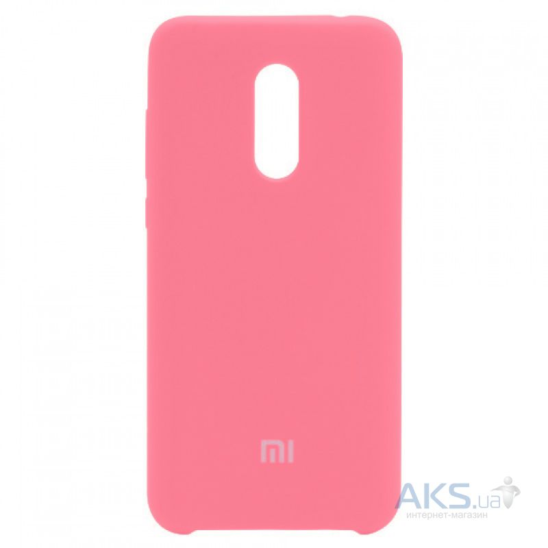 Чехол Xiaomi Soft Touch Case Redmi 5 Plus Pink