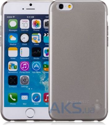Чехол Momax Clear Twist Apple iPhone 6, iPhone 6S Black (CCAPIP6D)