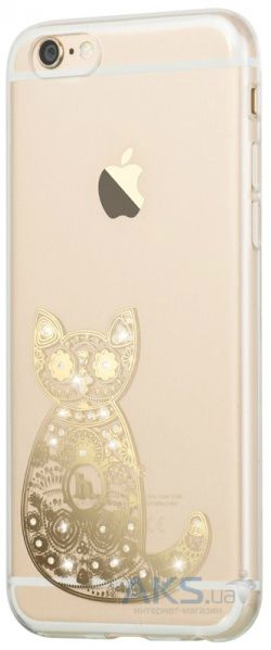 Чехол Hoco Super Star Series Apple iPhone 6, iPhone 6S Inner Diamond Cat