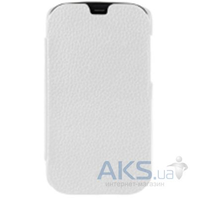 Чехол Melkco Book leather case for HTC One Mini White (O2O2M4LCFB2WELC)