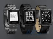 Вид 3 - Умные часы Pebble Watch Steel Matte Black