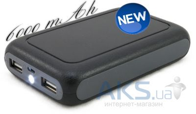 Повербанк power bank ExtraDigital ED-6Si 6000 mAh Black