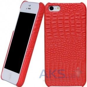 Чехол Borofone Crocodile Back Cover Apple iPhone 5, iPhone 5S, iPhone SE Red (BI-BL009R)
