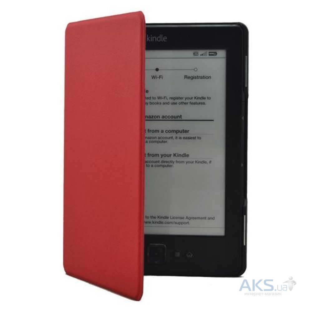 Обложка (чехол) Amazon Kindle Superslim cover for Kindle Paperwhite with Magnetic clasp Red