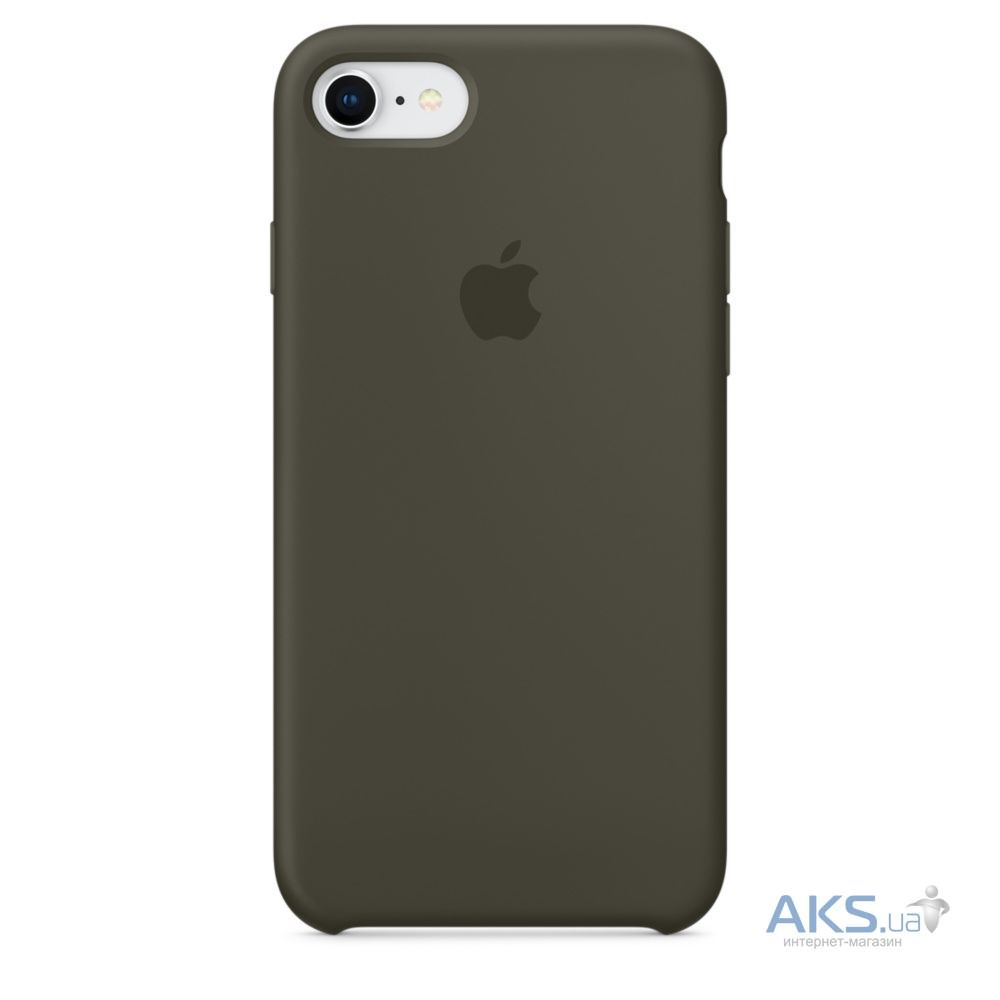 Чехол Apple Silicone Case  iPhone 7, iPhone 8 Dark Olive_HC