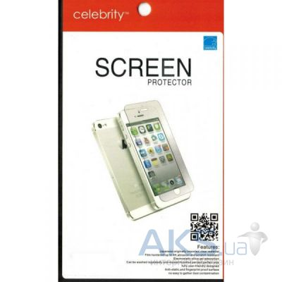 Защитная пленка Celebrity 2 in 1 for iPhone 5/5s Clear