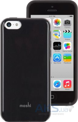 Чехол Moshi Hybrid Case iGlaze Remix Onyx Black for iPhone 5C (99MO069001)